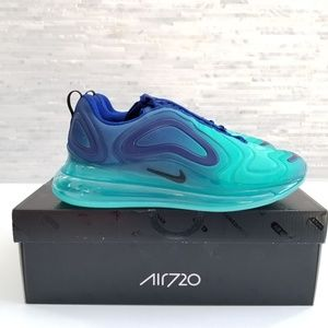 New NIKE Air Max 720  Sea Forest Sneakers
